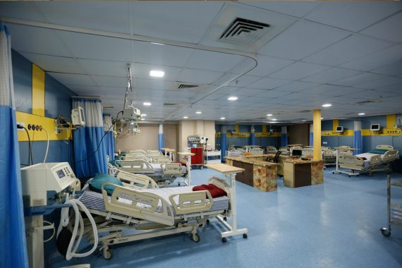 Fully-equipped Intensive Care Units