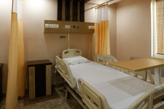 Spacious & comfortable patient rooms